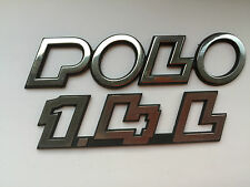 VW POLO BADGE POSTERIORE (B237)