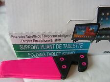 Support pliant pour votre tablette ou telephone inteligent ROSE