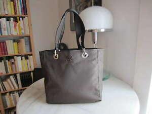 Shopper Wendetasche 1 Einkaufstasche Beutel selbst genäht Motiv : Spitze