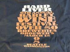 Beer Tee Beefy-T-Shirt: 2008 BROUWER'S Cafe Hard Liver Barleywine Fest ~ SEATTLE