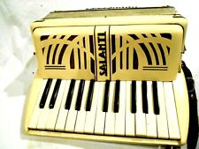 Vintage Salanti Accordion Model 276 No 778 Made in Italy