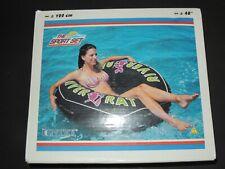 Rare Riesen RIVER RAT Schwimmring von INTEX inflatable Toy 122cm aus 2005