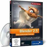 Blender 2.5 - Das umfassende Training von Galileo Press | Software | Zustand gut