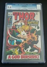 THOR #166 • CGC 9.4 WHITE PGS • 2ND FULL WARLOCK • GUARDIANS OF THE GALAXY VOL 3