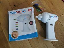 ELECTRIC indolore Cordless Wax Vac ear Wax Cleaner Remover vuoto aperto confezione rovinata