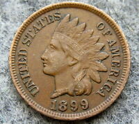 UNITED STATES 1899 CENT INDIAN HEAD