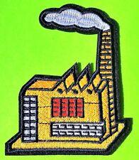 Factory House Vintage Building Iron-Sur la qualité brodé Patch Applique Crafts