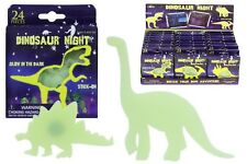24 x Glow In The Dark Dinosaurs Kids Bedroom Ceiling Wall Stickers Fun Party Bag
