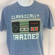 Nintendo Classically Trained T Shirt Burnout Size M Ships Free