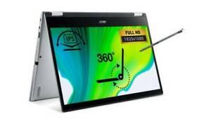"Acer Spin 3 SP314-54N 14"" FHD Touch Laptop i3-1005G1 4GB 128GB W10, NX.HQCEK.005"