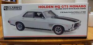 1:18 Holden HQ GTS Monaro 350  Glacier White