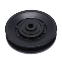 1pc 90mm Black Bearing Pulley Wheel Cable Gym Equipment Part Wearproof gym kitPT
