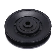 1pc 90mm Black Bearing Pulley Wheel Cable Gym Equipment Part Wearproof Wh