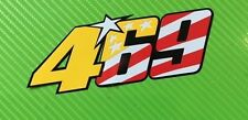 46 69 469 Rossi Hayden Mugello Tribute decal sticker SINGLE #469USA