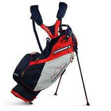 New 2020 Sun Mountain 4.5 Ls 14-Way Stand Bag - (Navy / White / Red)