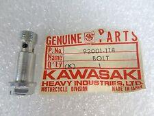 Kawasaki NOS NEW  92001-118 Banjo Bolt F11 F11M 1973-75