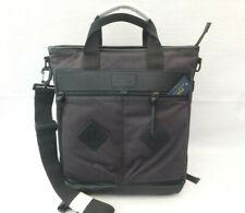 Polo Ralph Lauren Men's Canvas Back Pack Messenger Document Bag BNWT Black