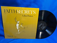 Lillian Watters LP Faith Secrets Verity V-3302 Rare Xian Gospel VG++