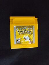 Pokemon GameBoy Yellow Special Pikachu Edition Game Japan Tested