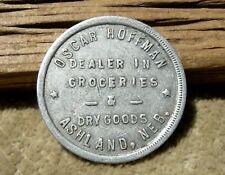 1900s ASHLAND NEBRASKA NE (OXBOW TRAIL SAUNDERS CO) HOFFMAN DRY GOODS 25c TOKEN