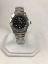 Tag Heuer WK1310 Black Classic SS Watch Womens Professional 200 Meters