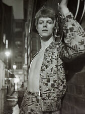 DAVID BOWIE  ZIGGY STARDUST LAMINATED PRINT HEDDON STREET style 4