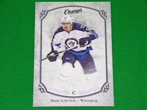 2015-16 Upper Deck Champ's Silver #14 Mark Scheifele 16/25 Winnipeg Jets