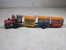 Vintage Wind Up Western Express 8400 Tin Toy Train TT Takatoku Japan Small