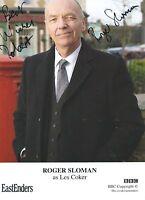 Roger Slogan ( Eastenders )Signed Les Coker Cast Card