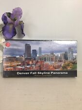 750 PC. AMERICAN FURNITURE WAREHOUSE DENVER FALL SKYLINE PANORAMA PUZZLE- NEW