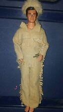 Mattel Disney Davy Crockett 1993 RARE Fashion Ken Doll Figure