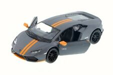 New Kinsmart Lamborghini Huracan LP610-4 AVIO Diecast Model Toy Car 1:36 Grey