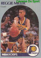 135 REGGIE MILLER INDIANA PACERS CARD CARTE BASKETBALL NBA HOOPS 1990