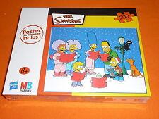 MB Puzzles 200 Teile : The Simpsons - Wintermotiv ! Neu & ovp