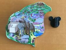Walt Disney World Cast Exclusive Atlas Series Mgm Hollywood Studios Pin Park Map