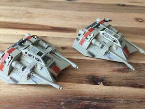 Star Wars Action Fleet 2 x Snowspeeder