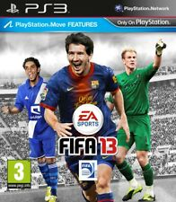 Fifa 13 PS3 game (2012) with PlayStation Move features