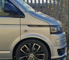 VW Transporter T5 T5.1 Side Panel Sticker Gloss Black Decal