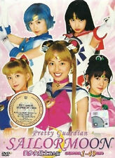Sailor Moon Live Action Pretty Guardian (TV 1 - 49 End) DVD + EXTRA DVD