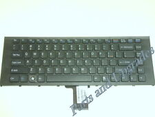 "SONY VAIO VPC-EA VPCEA 14"" Series Black US Laptop Keyboard W/Frame 148792891 NEW"