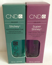 CND- Sticky Base Coat 9.8ml & Super Shiney Top Coat 9.8ml Set!!!