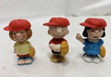 VTG Ultra Rare 1950-1960's PEANUTS FIGURES CHARLIE BROWN LUCY PEPPERMINT PATTY