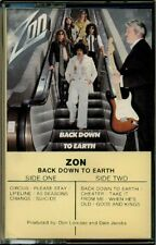 Zon - Back Down To Earth  RARE OOP 2nd Album ORIG Canadian Cassette (Mint!)