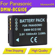 1xBattery DMW-BCG10E for Panasonic Lumix DMC-TZ20 TZ7 TZ18 TZ10 TZ8 ZS1 ZS3 ZR1