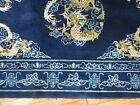 Antique Chinese Peking Dragon Rug Size 4'1''X6'1''