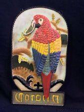 Nos Corona Parrot 3D Tin Metal Beer Sign