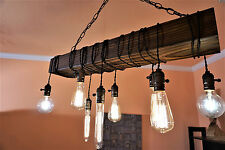 reclaimed wood chandelier-wood chandelier-farmhouse