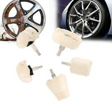 5x Polishing Buffing Pad Mop Wheel Drill Kit for Manifold Aluminum Stainless