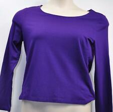 "Ralph Lauren Petite ""Imperial Purple"" Pull-Over Shirt Top Size L-PT MSRP $69"