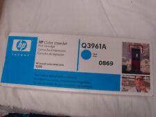 Q3961A Genuine HP Cyan Toner Color LaserJet 2500L 2550LN 2550 2800 2820 ^